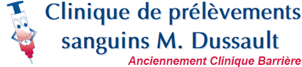 Clinique de prélèvements M. Dussault